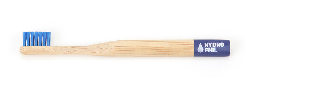 Kids Bamboo Toothbrush - Blue