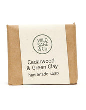 Cedar Wood & Green Clay Soap