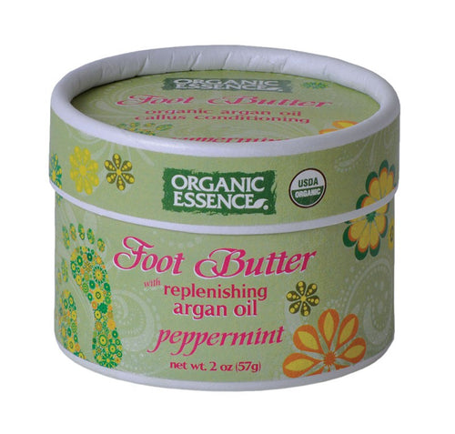 Peppermint Foot Butter By Organic Essence