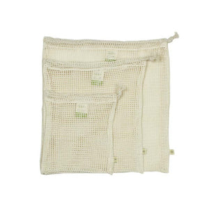 Organic Cotton Mesh Produce Bag - Set of 3