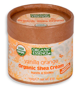 Organic Shea Cream Orange Vanilla