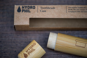 Bamboo Toothbrush Case