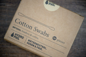 Biodegradable Cotton Buds Made From Bamboo & Cotton