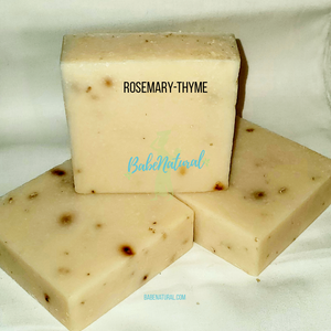 Natural Soap: Rosemary-Thyme