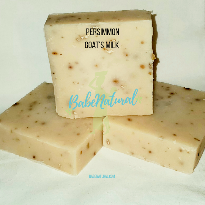 Natural Soap: Persimmon Goat's Milk