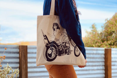 Limited Edition Mean Jean Tote