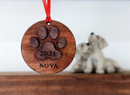 Dog Tag and Memorial Ornaments