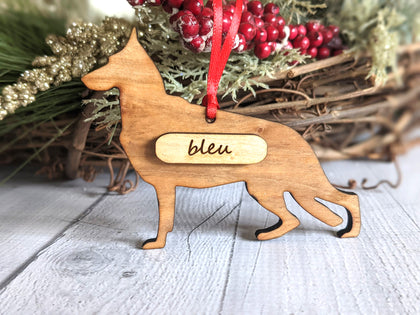 Personalized Dog Breed Ornaments