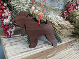 Wheaten Terrier Ornament