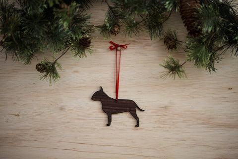Bull Terrier Ornament