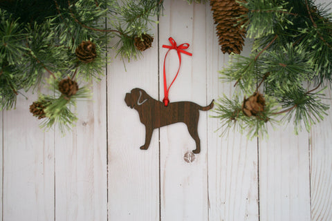 English Mastiff Dog Ornament