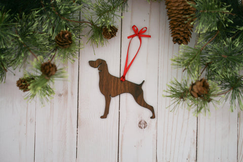 Weimaraner Dog Ornament