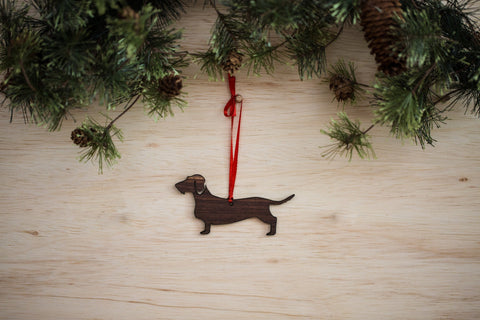 Dachshund (Wire Haired) Ornament