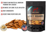 Healthy Gourmet Jerky Dog Square Treats (Chicken) - 16 oz. Bag