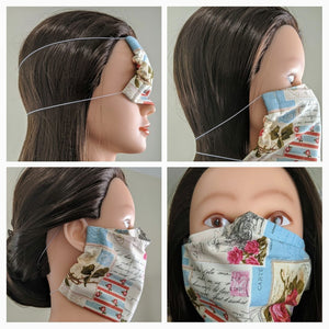 Get your reusable fabric face mask here!