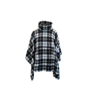 Original Cozy Black and White Plaid