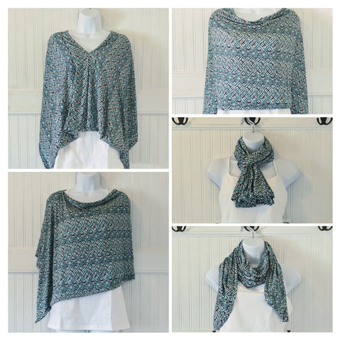 Summport Shawl 5 ways to style it