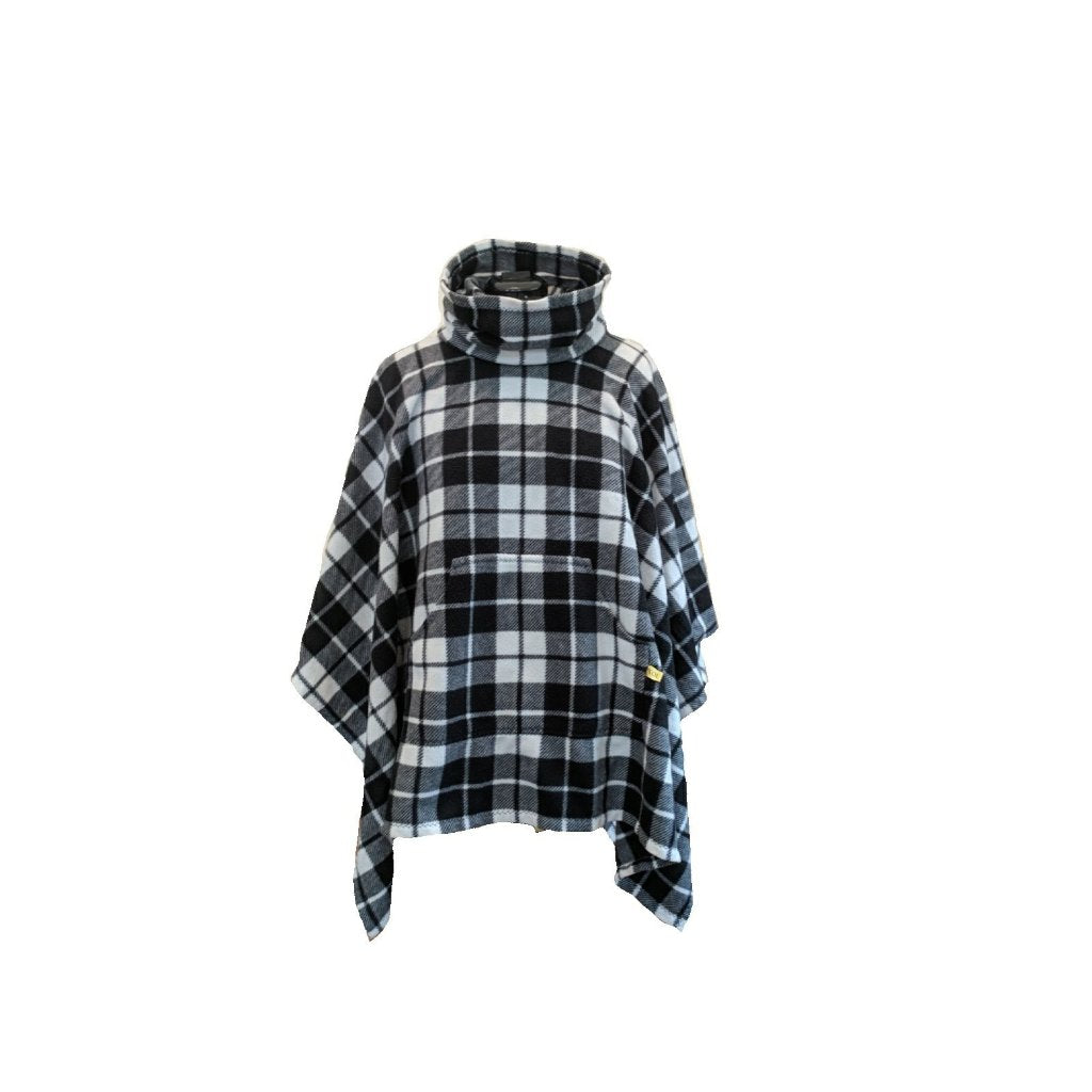 The Original Cozy - Black/White Plaid