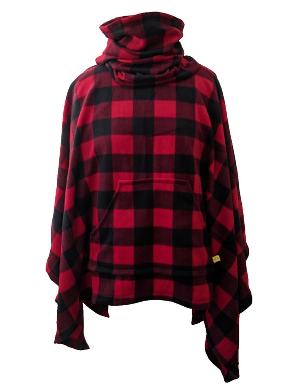 The Original Cozy - Red/Black Buffalo Check