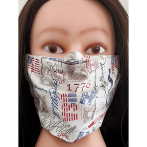 Designer Fashion Face Mask Cover Seamless Reusable Anti-Dust 100% Cotton