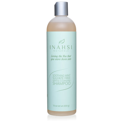 Soothing Mint Sulfate Free Gentle Cleansing Shampoo 16oz