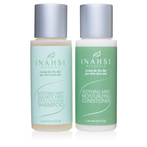 Gentle Cleansing Shampoo and Conditioner 2oz