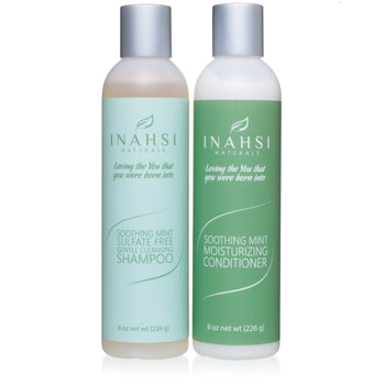 Gentle Cleansing Shampoo and Conditioner 8oz