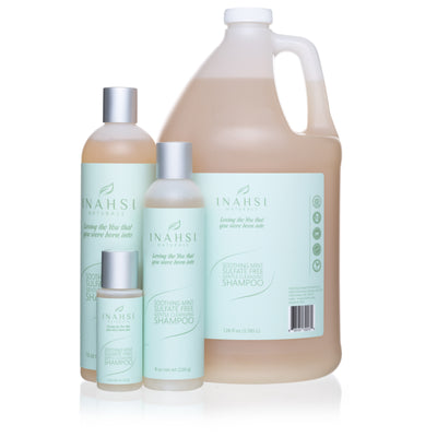 Soothing Mint Sulfate Free Gentle Cleansing Shampoo 64oz