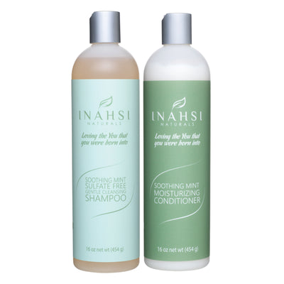 Gentle Cleansing Shampoo and Conditioner 16oz