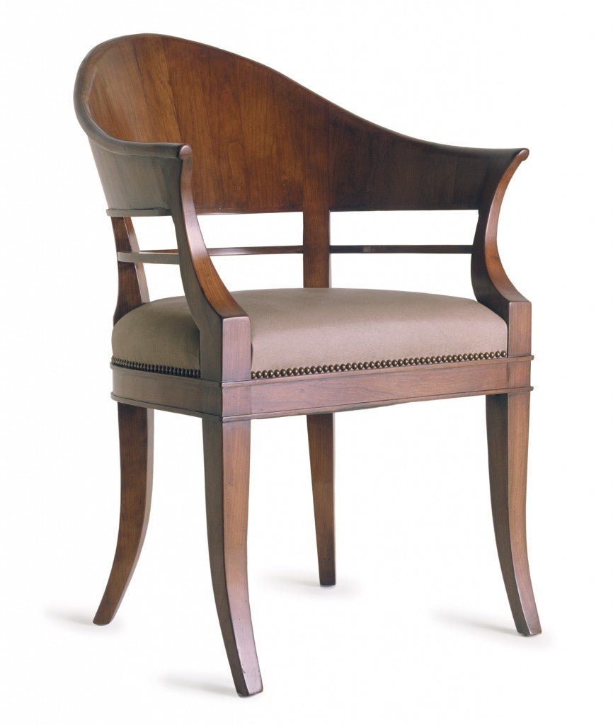 Hamilton Armchair - Wood Back