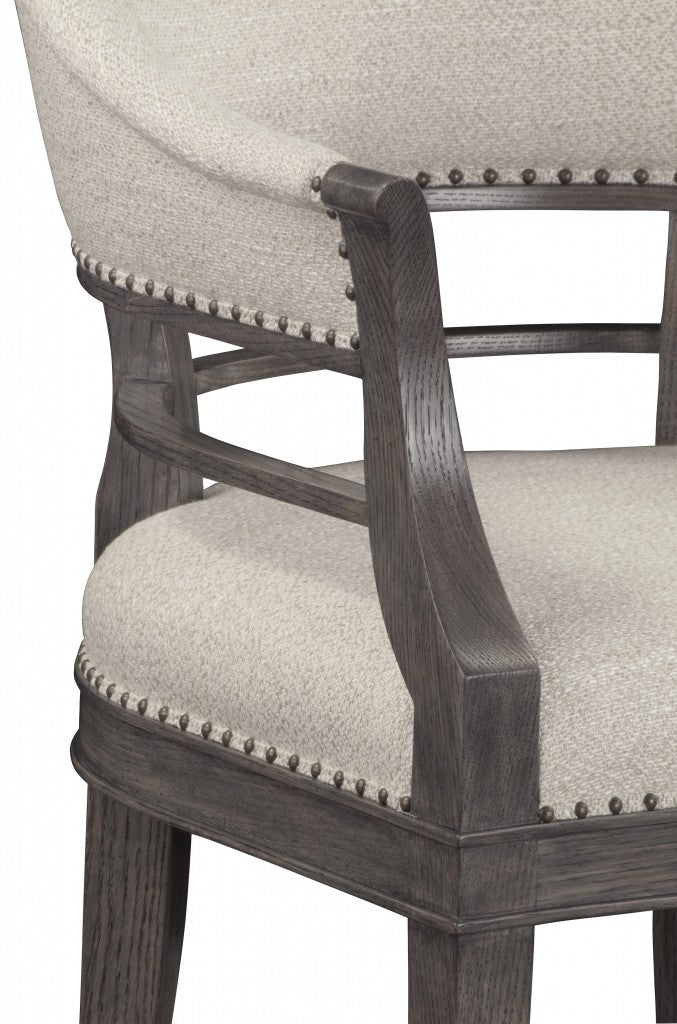 Hamilton Armchair - Upholstered Back