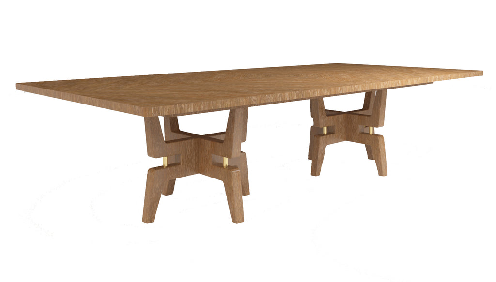 Turin Double Pedestal Dining Table