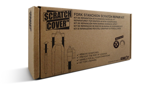SendHit Scratch Cover Fork / Shock / Seatpost stanchion Repair Kit