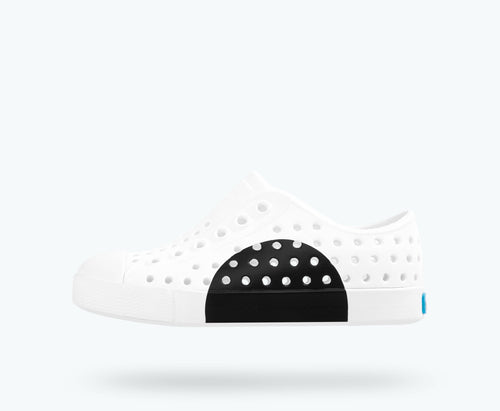 Jefferson Circle Block - Shell White/Jiffy Black
