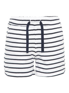 Striped Organic Cotton Shorts - 2 Colours