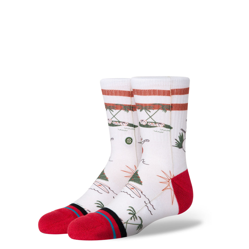 Kids Classic Socks - Santa In Hawaii