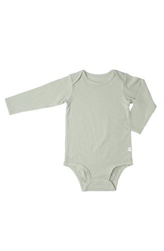 Long Sleeve Bodysuit - Sage