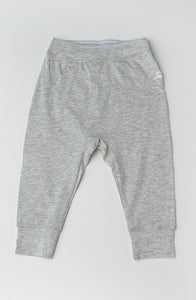 Tencel Baby Pants - Heather Grey