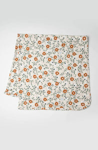 Stretch Knit Blanket - Flower Vine