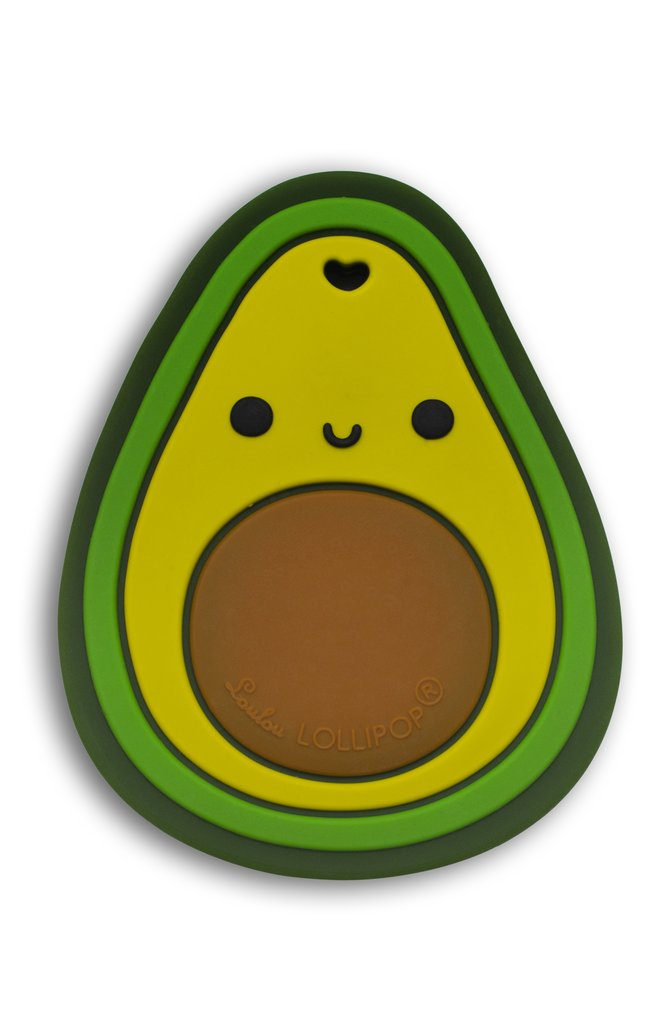 Silicone Teether - Avocado