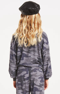 Mayori Camo Top