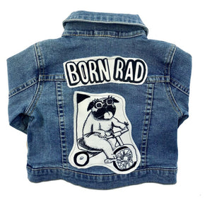 Born Rad Patch Denim Jacket