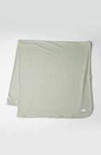 Stretch Knit Blanket - Sage