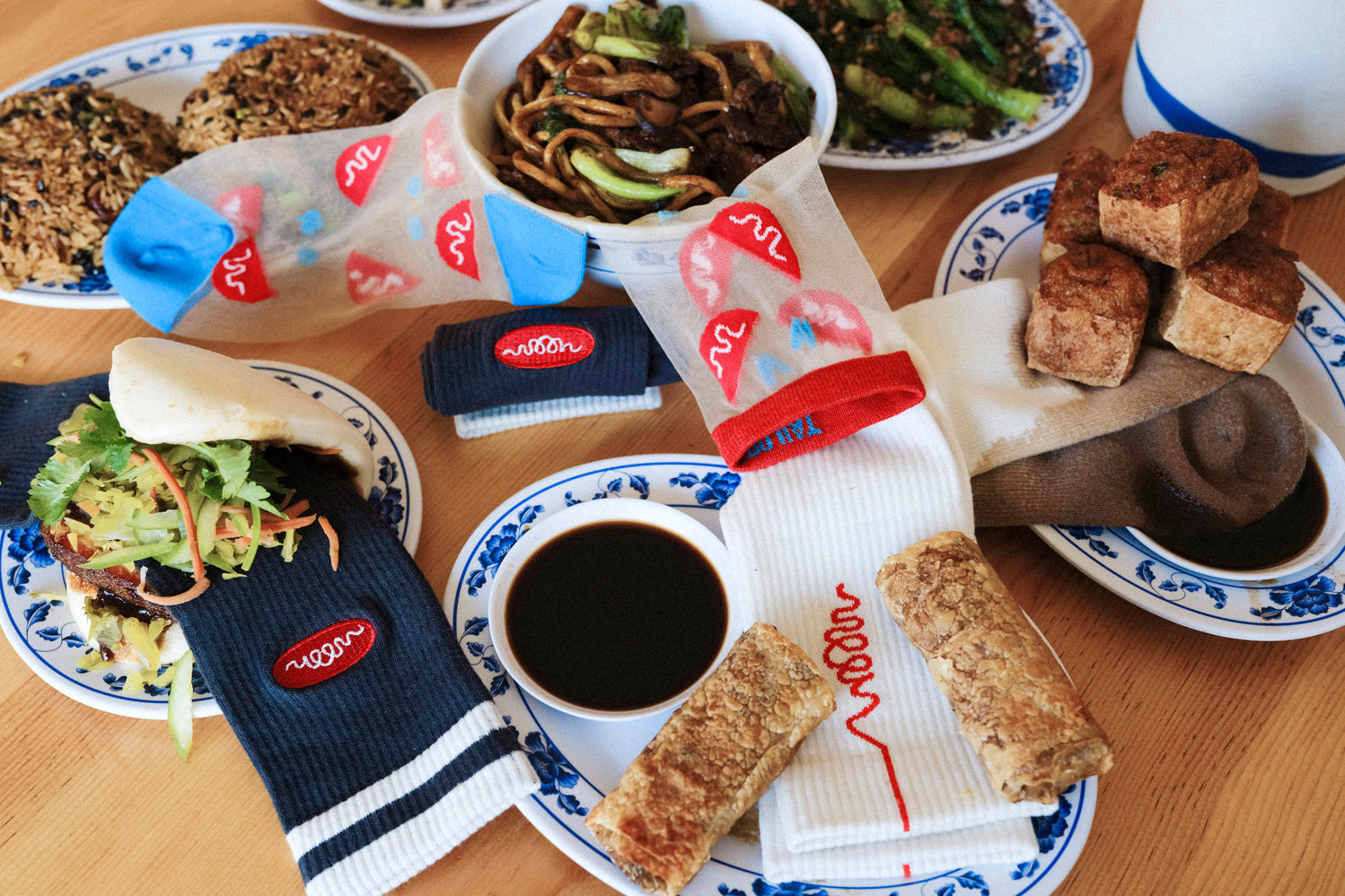 Woon Collection Socks with Food