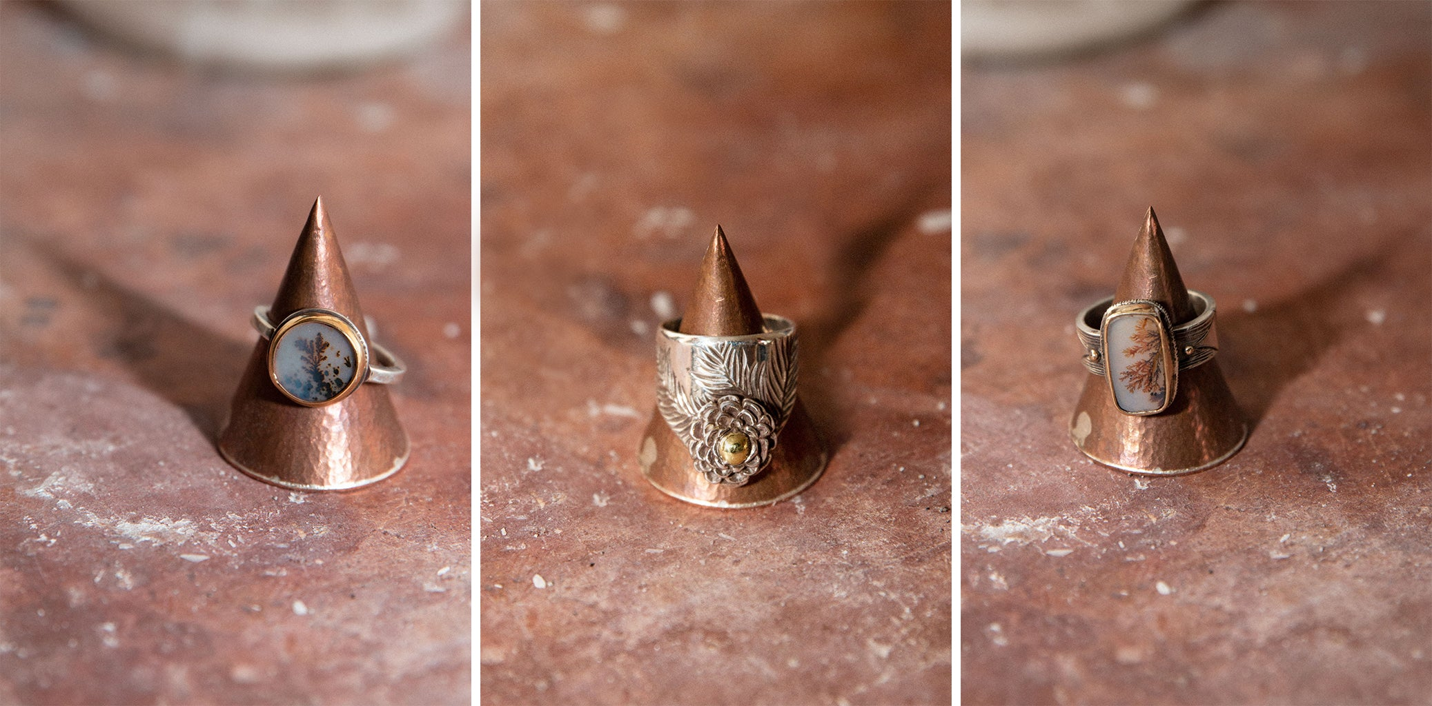 Tailored Union Artist Feature Olivia Sugarman Onyx Armory Rings