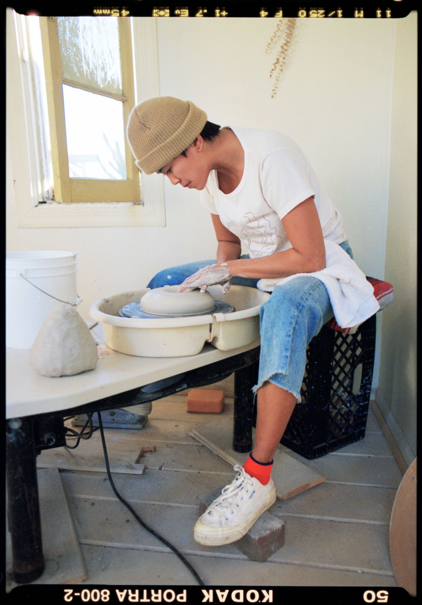 Tailored Union Artist Feature Monica Galan Salamat Ceramics Centre Red