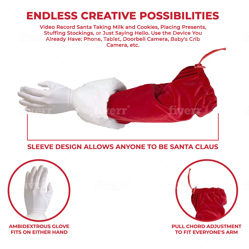 The Santa Sleeve/Can You Catch Santa Bundle