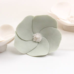 Wall Decor of Porcelain Anemones - Handmade Porcelain Flowers for Interior and Event Decoration - Made in France by Alain Granell – Home and Wall Decoration