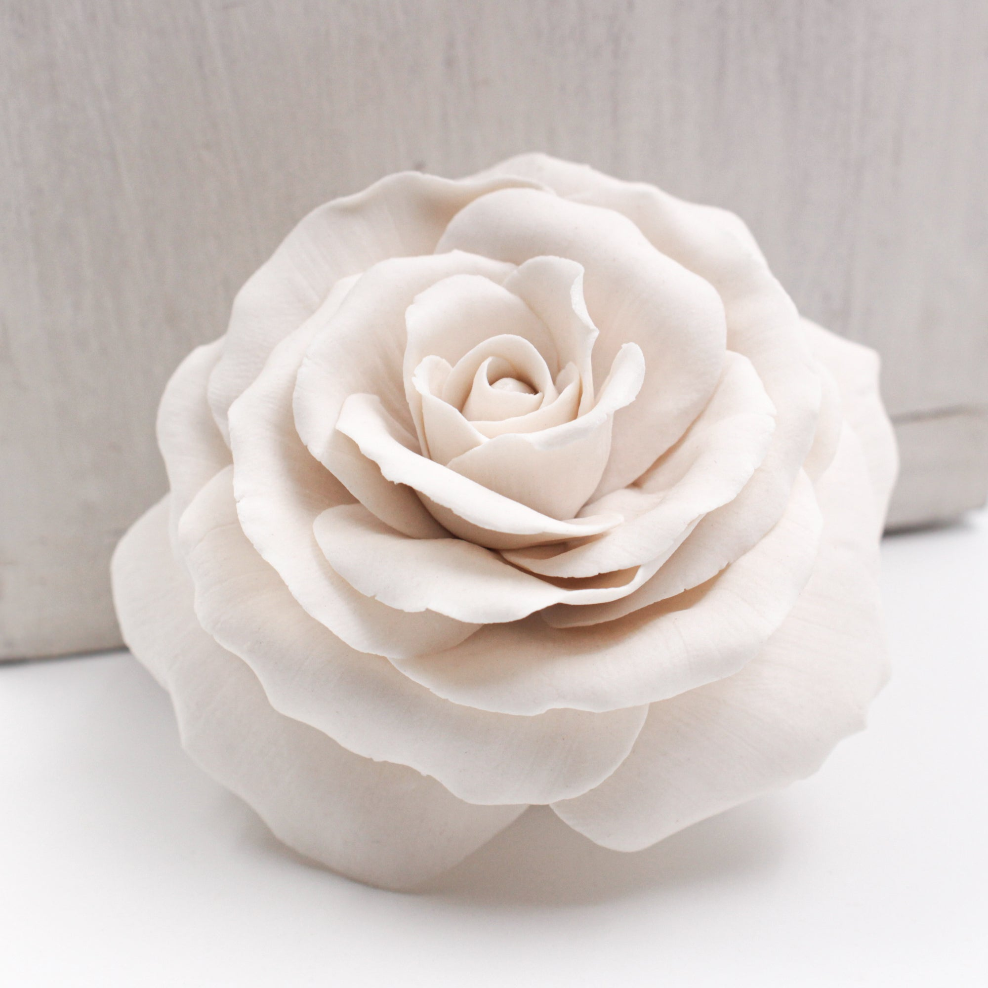 Porcelain Rose - Handmade Porcelain Flower for Interior and Event Decoration - Made in France by Alain Granell – Home and Wall Decoration