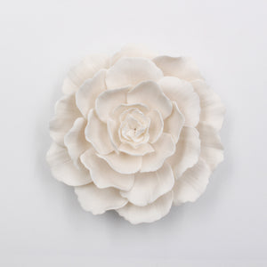 Porcelain Peony- Handmade Porcelain Flower for Interior and Event Decoration - Made in France by Alain Granell – Home and Wall Decoration